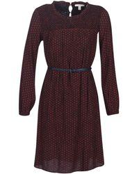 Esprit 099EE1E015-622 femmes Robe en rouge