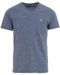 Chevignon Tshirt Manches courtes straight col V hommes T-shirt en bleu