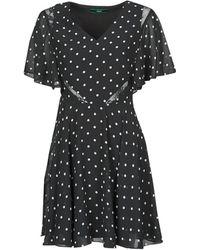 Guess Korte Jurk Ella Dress - Zwart