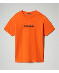 Napapijri Camiseta S-BOX SS 1 - NP0A4FF5 - Naranja