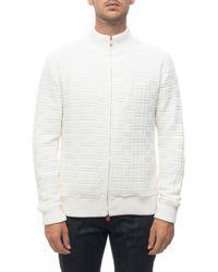 Kiton UMK00161 Gilet - Blanc