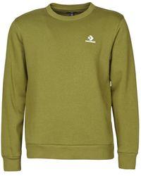 Converse Sweater Emb Crew Bb - Groen