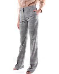 MSGM Pantalons de costume 2841MDP92207119 Classics Femme - Gris