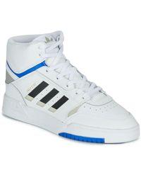adidas Hoge Sneakers Drop Step - Wit