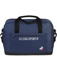 Le Coq Sportif Porte document Sac Essentiels - Bleu