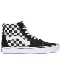 c10452148b Vans - Sk8 Hi Lite Men s Shoes (high-top Trainers) In Black -