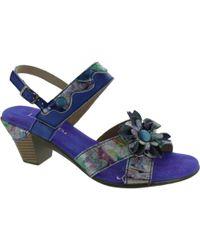 Laura Vita - Bettino Women's Sandals In Blue - Lyst