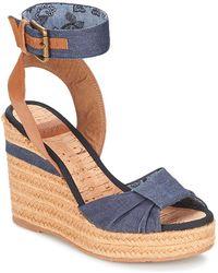 Napapijri - Belle Women's Sandals In Blue - Lyst