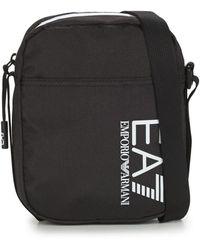 EA7 Handtasje Train Core U Pouch Bag Small A - Zwart
