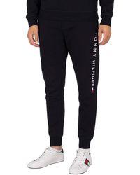 Tommy Hilfiger Pantalon de jogging à logo empilé Jogging - Bleu