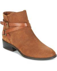 Lauren by Ralph Lauren - Mehira Women's Mid Boots In Brown - Lyst