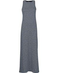 Superdry Abito Lunghi Jersey Maxi Dress - Blu