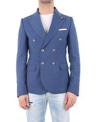 Daniele Alessandrini G3331N9604100 Veste - Bleu