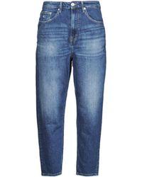 Tommy Hilfiger Boyfriend Jeans MOM JEAN ULTRA HR TPRD AMBC - Blau