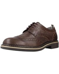 Stonefly Nette Schoenen Alby 1 Leather - Bruin