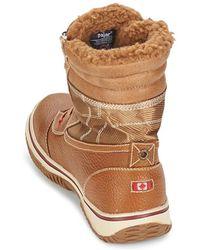 Pajar - Trooper Men's Snow Boots In Brown - Lyst