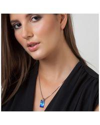 Sc Crystal BS053-SN016-BEBL Collier - Bleu