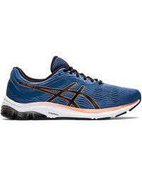 Asics Zapatillas para correr en azul y naranja gel pulse 11