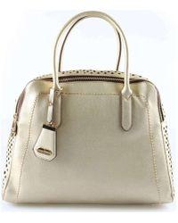 Acqua Di Perla Ap-eh20009 Bauletto Accessories Gold Women's Handbags In Gold - Metallic