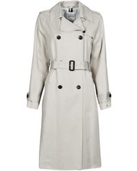 Tommy Hilfiger DB LYOCELL FLUID TRENCH Trench - Neutre