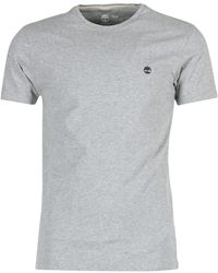 Timberland T-shirt À Col Rond Dunstan River - Gris