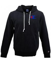 Champion Hooded Full Zip Sweatshirt Sweat-shirt - Noir
