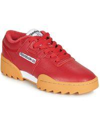 Reebok Lage Sneakers Workout Ripple Og - Rood
