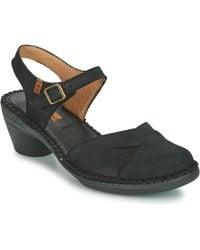 El Naturalista - Aqua Women's Sandals In Black - Lyst