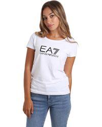 EA7 Camiseta 8NTT63 TJ12Z - Blanco