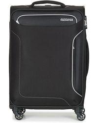 Spartoo Holiday Heat 67cm 4r Soft Suitcase - Black