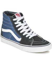 0b5ff9bc67 Vans - Sk8-hi Men s Shoes (high-top Trainers) In Blue -