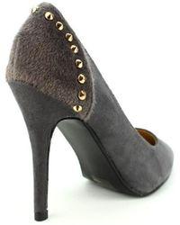 Cendriyon Escarpins Gris Chaussures Femme Chaussures escarpins