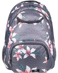 Roxy - Shadow Swell 24l - Sac Women's Backpack In Grey - Lyst