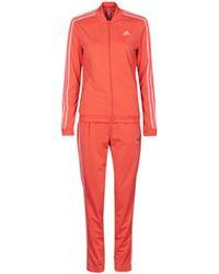 adidas Jogginganzüge W 3S TR TS - Rot