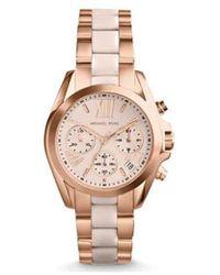 MICHAEL Michael Kors Horloge Mk6066 Bradshaw Horloge - Rose Gold - Metallic