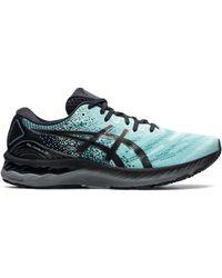Asics Hardloopschoenen Chaussures Gel-nimbus 23 - Blauw
