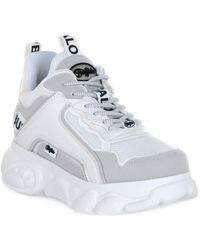 Buffalo Baskets basses CHAI WHITE - Blanc