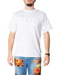 Gcds CC94M02LC04 T-shirt - Blanc
