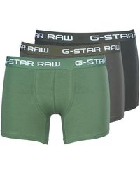 G-Star RAW Boxer CLASSIC TRUNK CLR 3 PACK - Verde