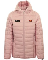 Ellesse Lompard Padded Jacket - Rosa