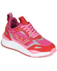 Emporio Armani Lage Sneakers X3x126-xm521 - Roze