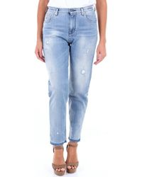 Jacob Cohen Boyfriend Jeans 01508w15151 - Blauw