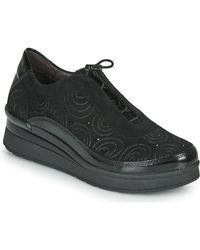 Stonefly Lage Sneakers Cream 21 - Zwart
