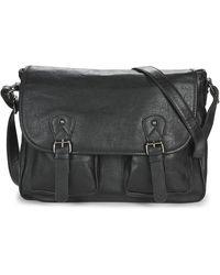 Casual Attitude Nudile Messenger Bag - Black