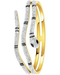 Sc Crystal B2127-DORE Bracelets - Métallisé