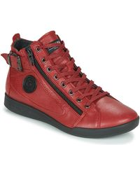 Pataugas - Hoge Sneakers Palme/n F4d - Lyst