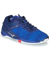 Mizuno Sportschoenen Wave Stealth Neo - Blauw