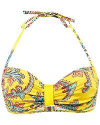 Carla Bikini - Yellow Balconnet Swimsuit Top Brazil Summer Women's Mix & Match Swimwear In Yellow - Lyst
