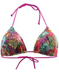 Carla Bikini - Multicolour Triangle Swimsuit Enjoy Sandbar Women's Mix & Match Swimwear In Multicolour - Lyst