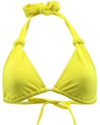 Carla Bikini - Yellow Triangle Swimsuit Charm Zest Women's Mix & Match Swimwear In Yellow - Lyst